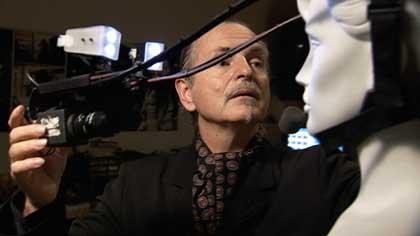Krzysztof Wodiczko at work